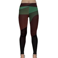 Color Vague Abstraction Classic Yoga Leggings