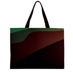Color Vague Abstraction Zipper Large Tote Bag by BangZart