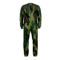 Military Camouflage Pattern Onepiece Jumpsuit (kids)