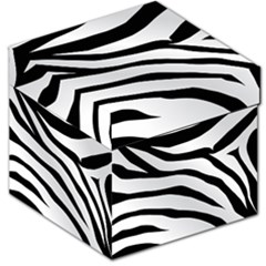 White Tiger Skin Storage Stool 12
