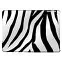 White Tiger Skin iPad Air Hardshell Cases View1