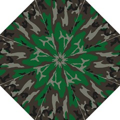 Army Green Camouflage Straight Umbrellas by BangZart