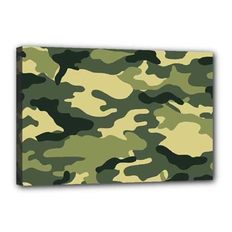 Camouflage Camo Pattern Canvas 18  X 12