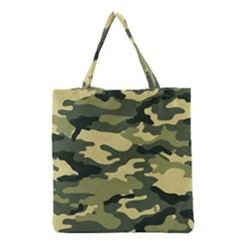 Camouflage Camo Pattern Grocery Tote Bag by BangZart