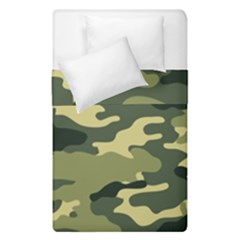 Camouflage Camo Pattern Duvet Cover Double Side (single Size) by BangZart
