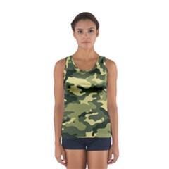 Camouflage Camo Pattern Women s Sport Tank Top