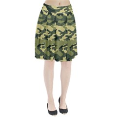 Camouflage Camo Pattern Pleated Skirt