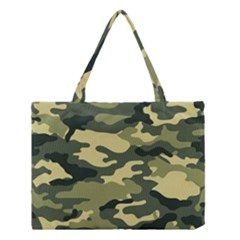 Camouflage Camo Pattern Medium Tote Bag by BangZart