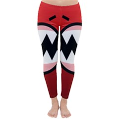 Funny Angry Classic Winter Leggings by BangZart