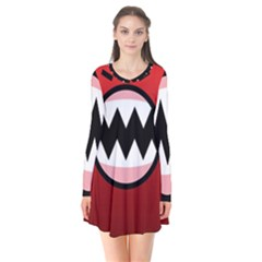 Funny Angry Flare Dress
