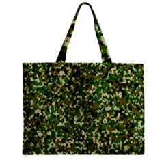 Camo Pattern Zipper Mini Tote Bag by BangZart