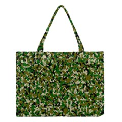 Camo Pattern Medium Tote Bag