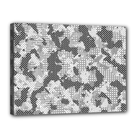 Camouflage Patterns Canvas 16  X 12  by BangZart