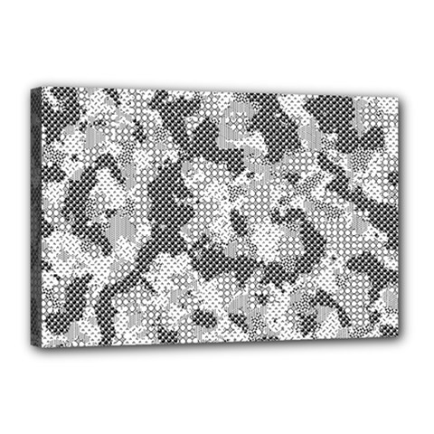 Camouflage Patterns Canvas 18  X 12