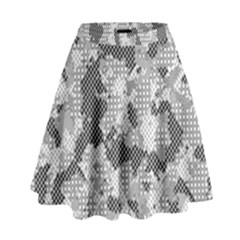 Camouflage Patterns High Waist Skirt by BangZart