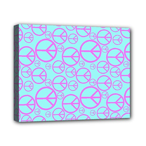 Peace Sign Backgrounds Canvas 10  X 8  by BangZart