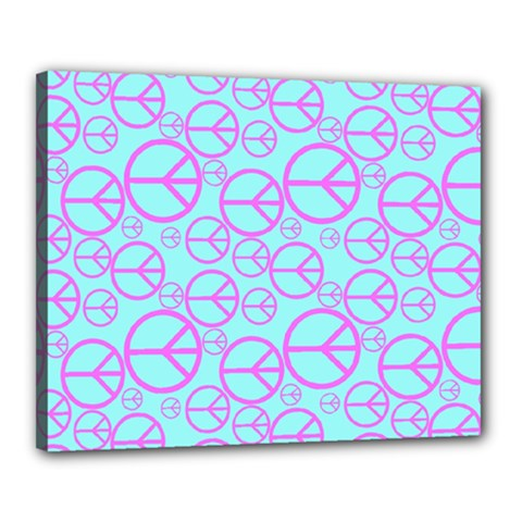 Peace Sign Backgrounds Canvas 20  X 16