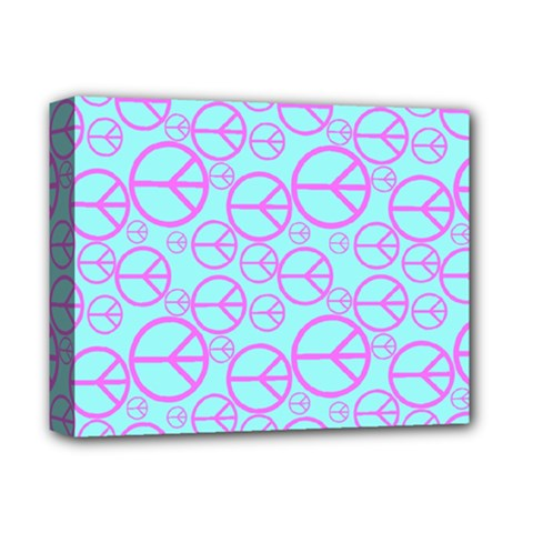 Peace Sign Backgrounds Deluxe Canvas 14  X 11  by BangZart