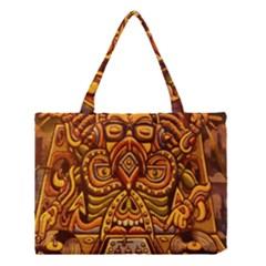 Alien Dj Medium Tote Bag by BangZart