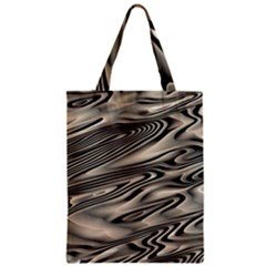 Alien Planet Surface Zipper Classic Tote Bag by BangZart