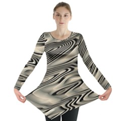 Alien Planet Surface Long Sleeve Tunic