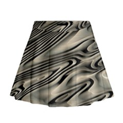 Alien Planet Surface Mini Flare Skirt