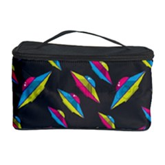 Alien Patterns Vector Graphic Cosmetic Storage Case by BangZart