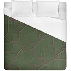 Alien Wires Texture Duvet Cover (king Size)
