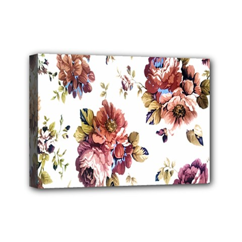 Texture Pattern Fabric Design Mini Canvas 7  X 5