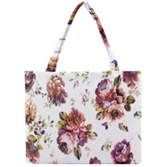 Texture Pattern Fabric Design Mini Tote Bag
