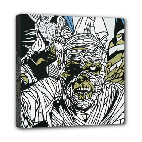 The Monster Squad Mini Canvas 8  X 8  by BangZart