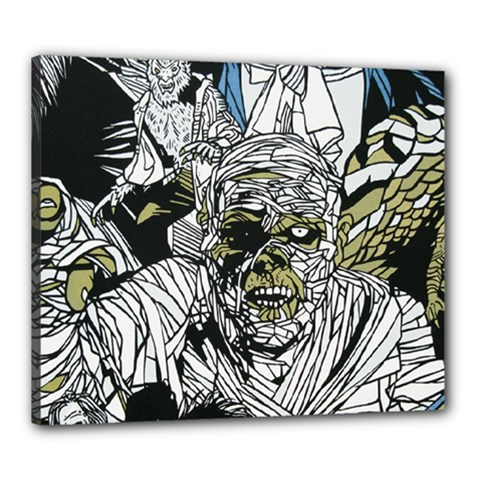 The Monster Squad Canvas 24  X 20  by BangZart