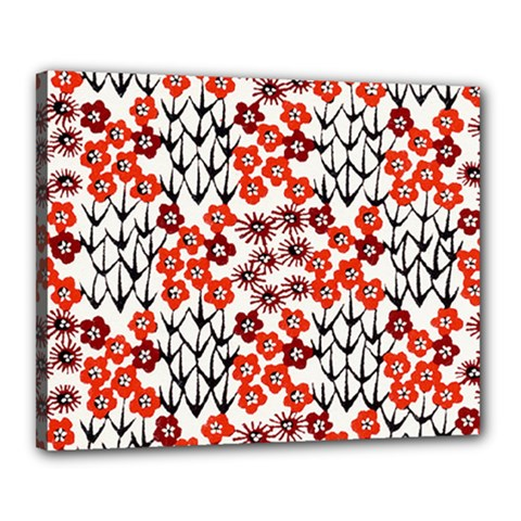 Simple Japanese Patterns Canvas 20  X 16