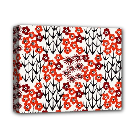 Simple Japanese Patterns Deluxe Canvas 14  X 11  by BangZart