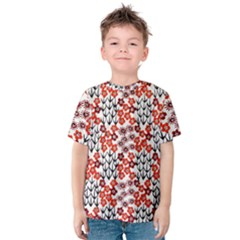 Simple Japanese Patterns Kids  Cotton Tee