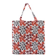 Simple Japanese Patterns Grocery Tote Bag