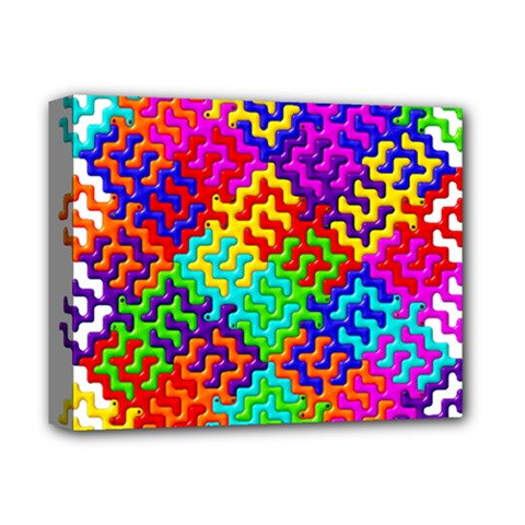 3d Fsm Tessellation Pattern Deluxe Canvas 14  X 11