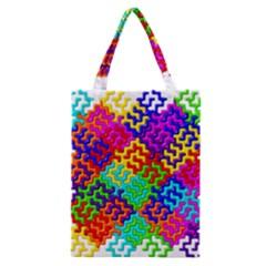 3d Fsm Tessellation Pattern Classic Tote Bag by BangZart