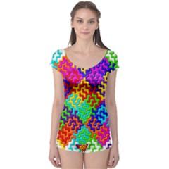 3d Fsm Tessellation Pattern Boyleg Leotard