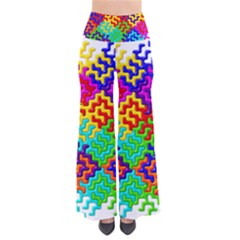 3d Fsm Tessellation Pattern Pants by BangZart