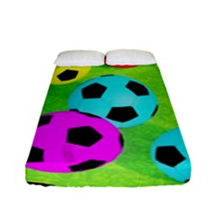 Balls Colors Fitted Sheet (full/ Double Size)