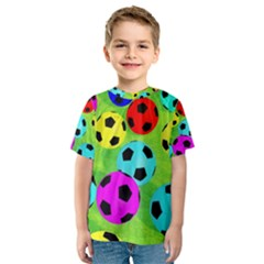 Balls Colors Kids  Sport Mesh Tee