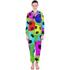 Balls Colors Hooded Jumpsuit (ladies)