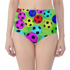 Balls Colors High Waist Bikini Bottoms