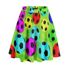 Balls Colors High Waist Skirt by BangZart