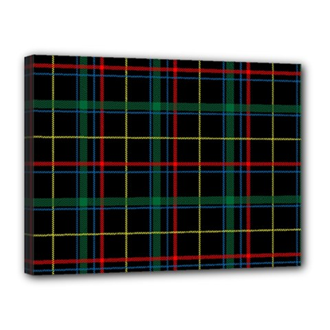 Tartan Plaid Pattern Canvas 16  X 12