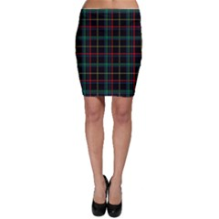 Tartan Plaid Pattern Bodycon Skirt