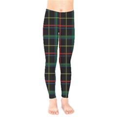 Tartan Plaid Pattern Kids  Legging by BangZart