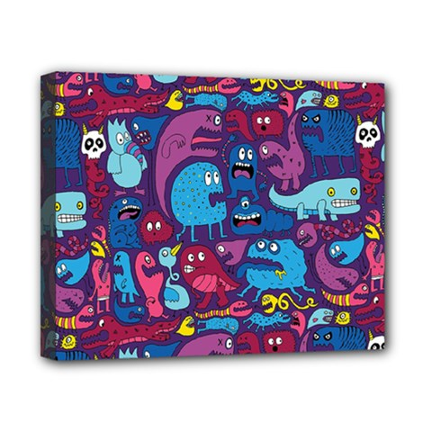 Hipster Pattern Animals And Tokyo Canvas 10  X 8  by BangZart