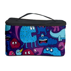 Hipster Pattern Animals And Tokyo Cosmetic Storage Case by BangZart